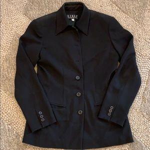 Kenar fully lined black blazer size 6 (fit like 4)